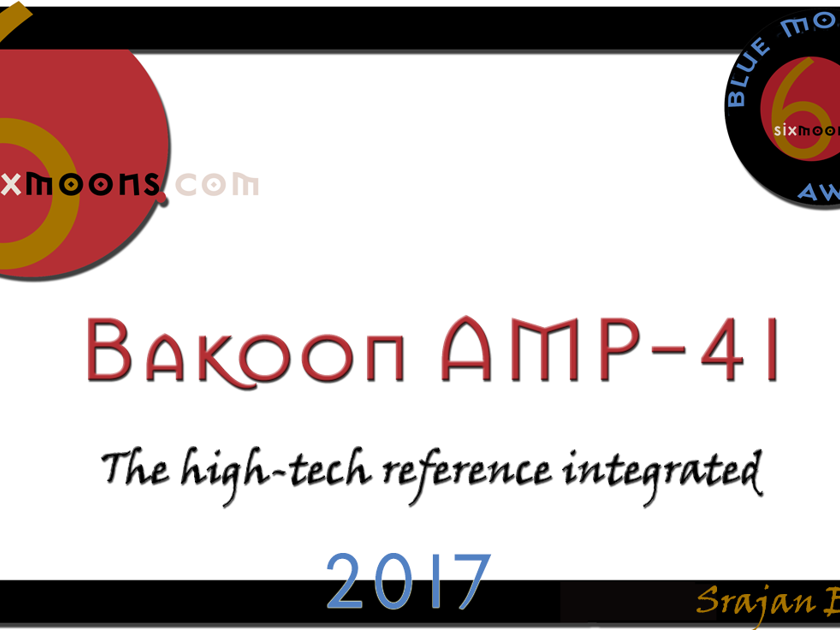 Blue Moon Award Winner! -- Bakoon Amp-41 Integrated | ULTRA-WIDEBAND-AMP | Free Shipping and Trial at JaguarAudioDesign.com!