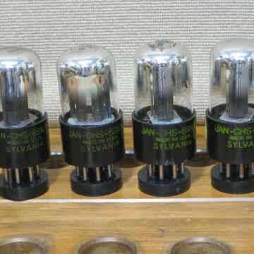 JAN-CHS-6SN7W  Matching quad