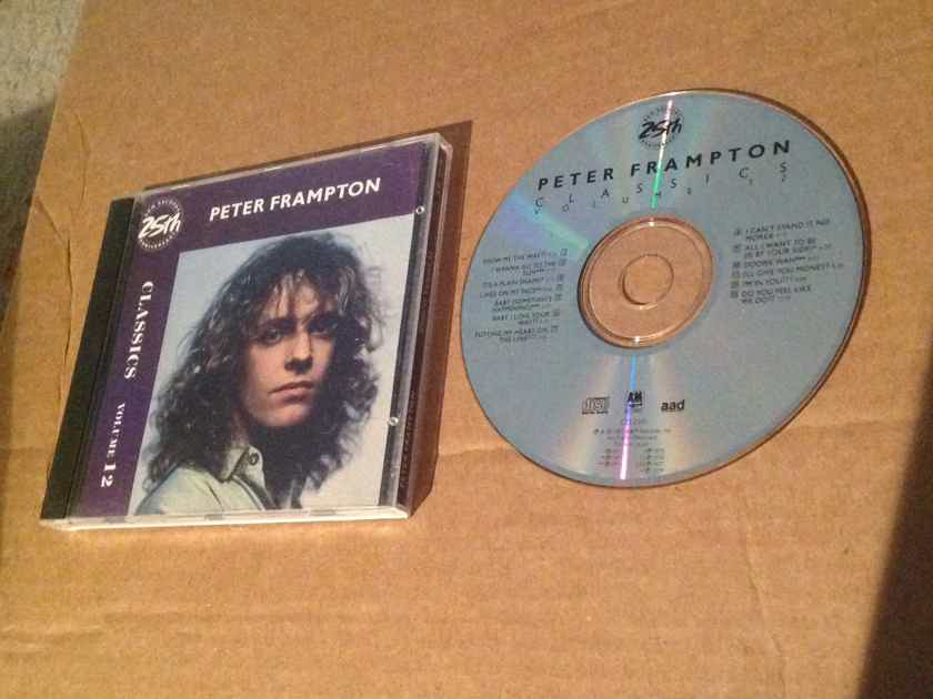 Peter Frampton - Classics Volume 12 NM A & M Records Japan For USA Compact Disc