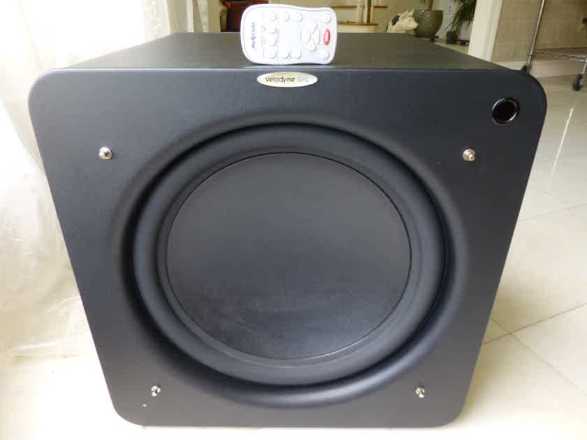 Velodyne SPL-1500R Subwoofer with Remote, Microphone, Manual, Original Double Boxes