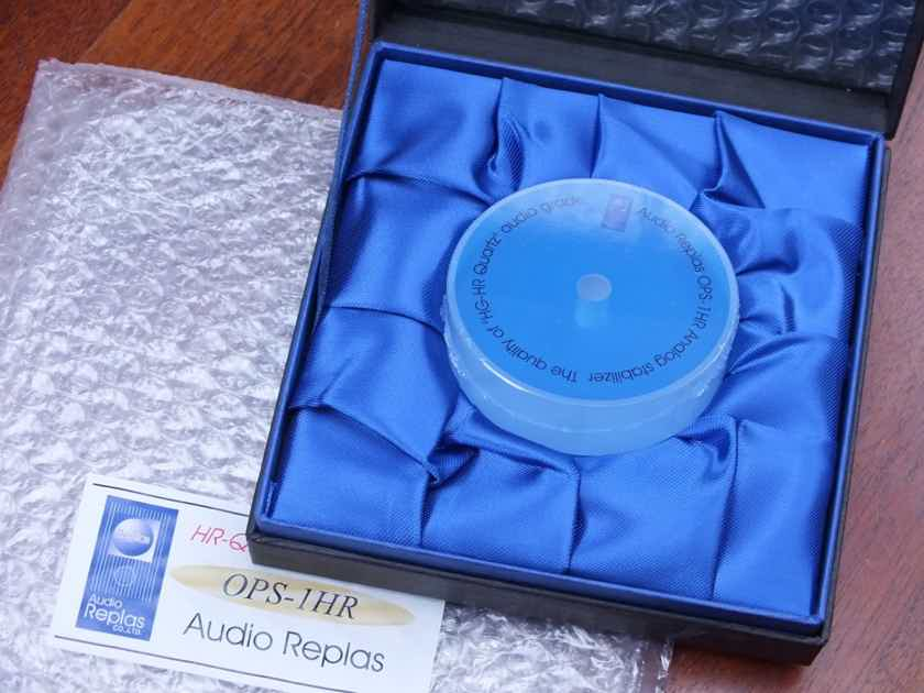 AUDIO REPLAS OPS-1HR Record Stabilizer BRAND NEW!