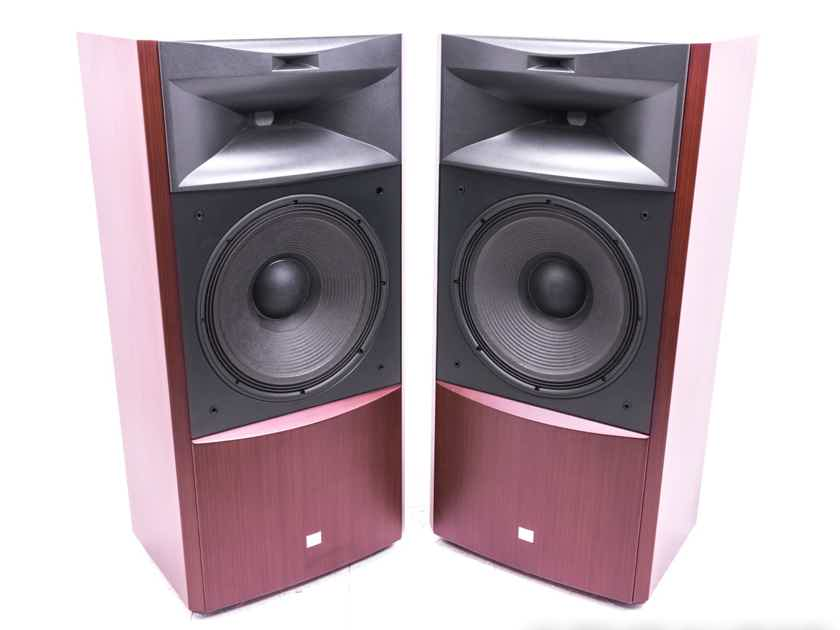 JBL S4700 Floorstanding Speakers; Cherry Pair; S-4700 (20511)