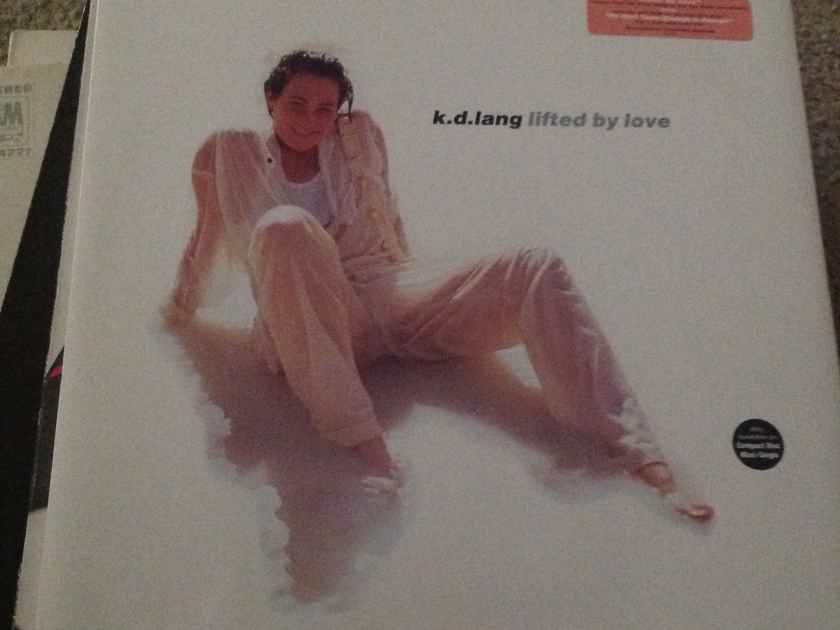K.D. Lang - Lifted By Love 12 Inch EP Sire Records Vinyl NM