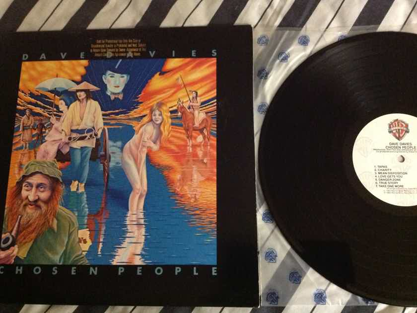 Dave Davies(Kinks) - Chosen People Warner Brothers Records Vinyl LP NM