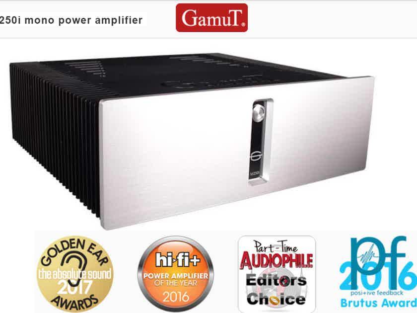 GamuT Audio M250i Reference Monoblocks