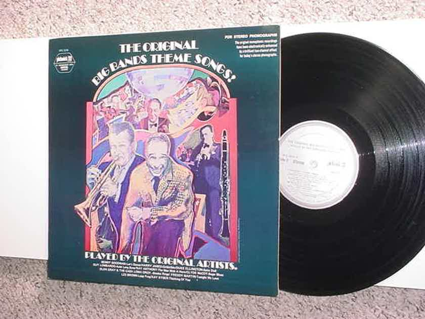 The original big band theme songs lp record - played by the original artists pickwick 33 Capitol spc-3235