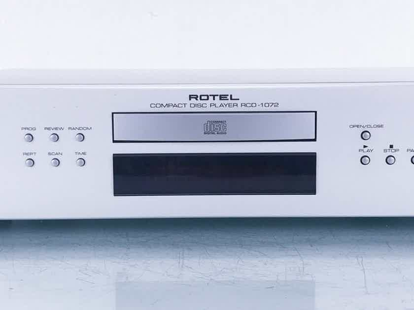 Rotel RCD-1072 CD / HDCD Player RCD1072 (15311)