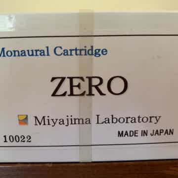 Miyajima Labs Zero mono - NEW True mono cartridge.