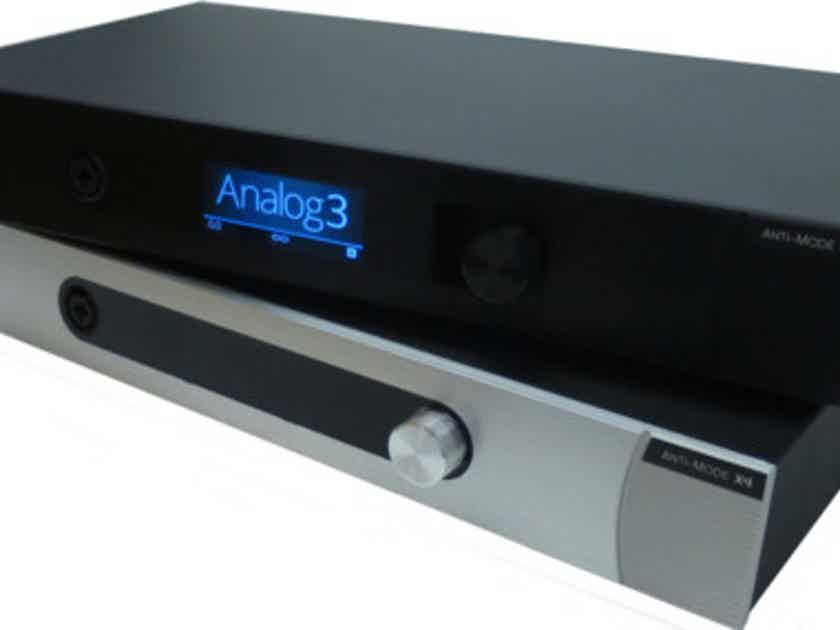 Four channel preamp/DAC with room correction