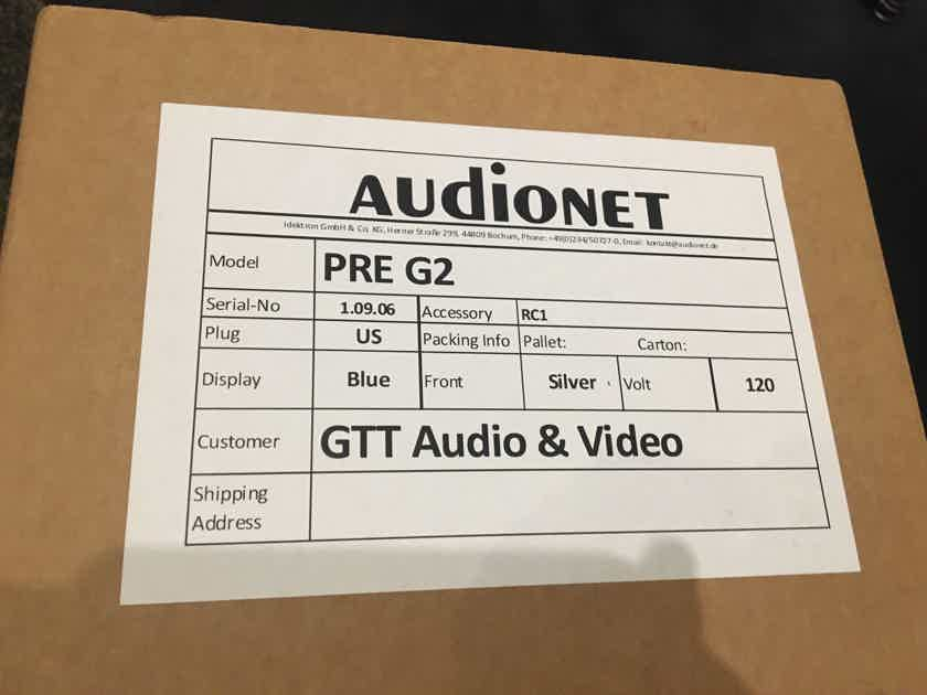New Price!  Audionet PRE G2 linestage preamplifier