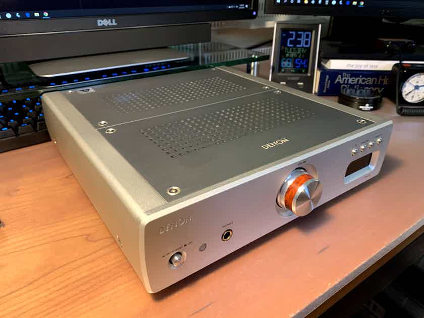 Denon DRA-CX3 Stereo Receiver TAS Reviewed Rare Collector Made in Japan Champagne Gold