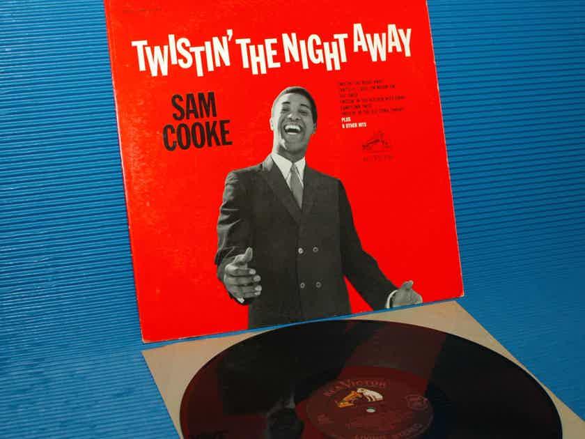 "SAM COOKE  - ""Twistin' The Night Away"" -  RCA 'Black Dog' 1962 1st Pressing"