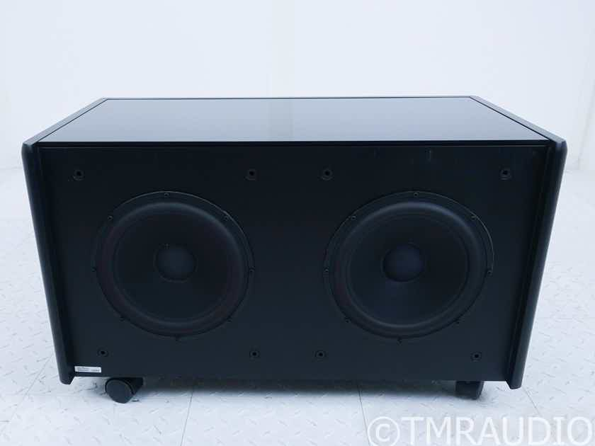 "Meridian DSW2500 Dual 10"" Powered Subwoofer; DSW-2500 (No Feet) (17982)"
