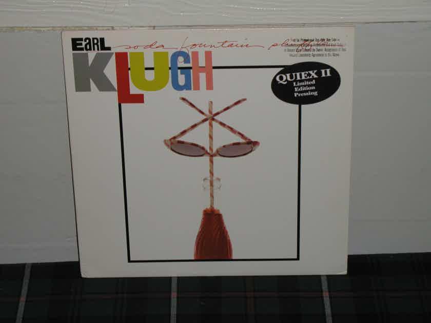 "Earl Klugh   ""Soda Fountain Shuffle"" - WB 25262-1 w/Gold Embossed Promo Stamp Ltd. Ed. QUIEX II pressing."
