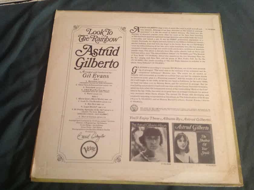 Astrud Gilberto  Look To The Rainbow Verve Records MONO LP