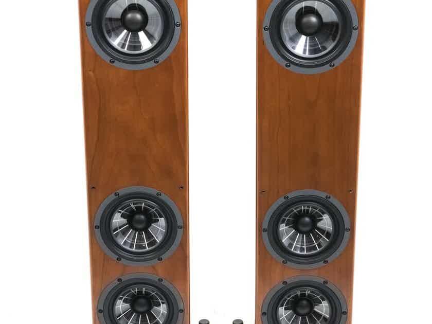 Vienna Acoustics Beethoven Baby Grand SE Floorstanding Speakers; Cherry Pair (25069)