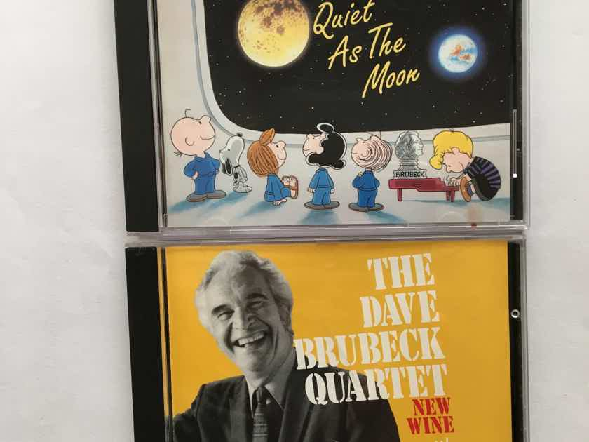Dave Brubeck  2 Cd Cds new wine & quiet as the moon