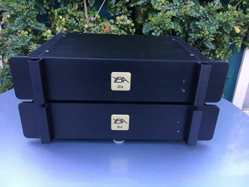 RARE YBA Delta-2 HCDT MONOBLOCK Amplifiers!
