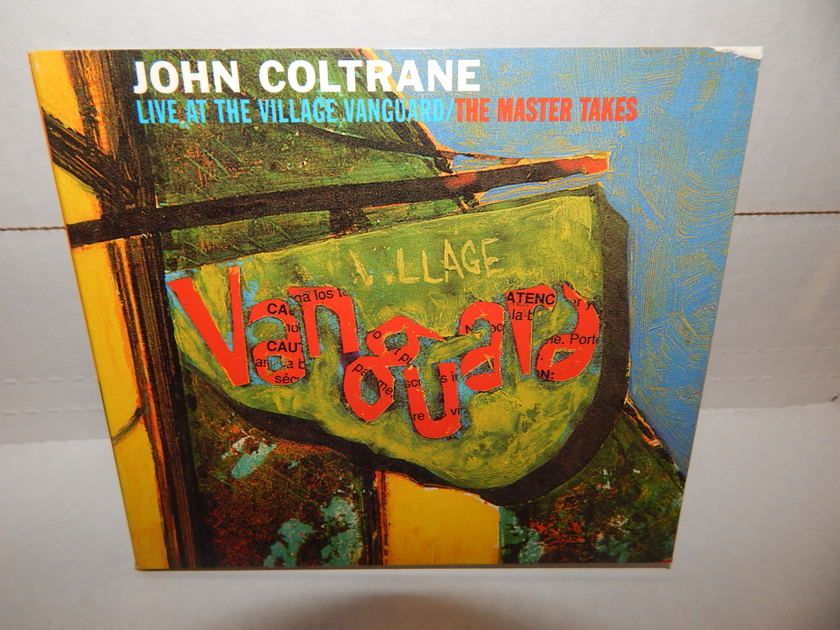 JOHN COLTRANE 'LIVE' AT THE VILLAGE VANGUARD - THE MASTER TAKES Eric Dolphy McCoy Tyner Elvin Jones '97 Impulse Trifold w/Booklet NM CD