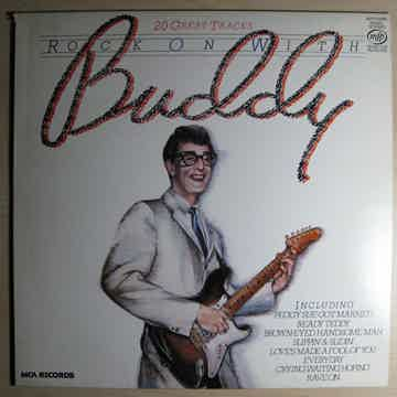 Buddy Holly - Rock On With Buddy NM- 1980 UK Import Com...