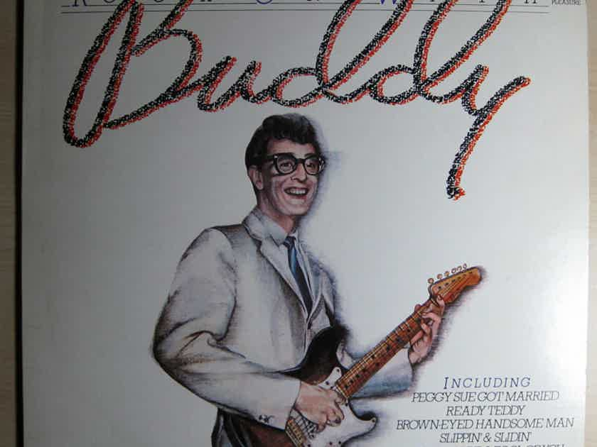 Buddy Holly - Rock On With Buddy NM- 1980 UK Import Compilation Vinyl LP Music For Pleasure MFP 50490