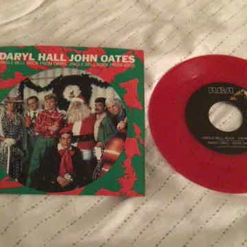 Daryl Hall John Oates Promo Red Vinyl 45 With Picture S...