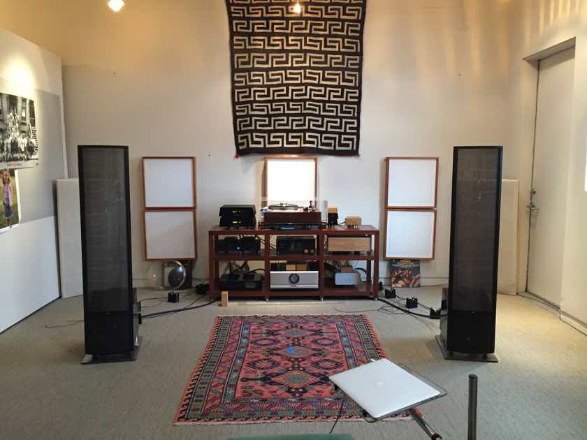 Martin Logan Montis Black cherry wood $2000 upgraded finish