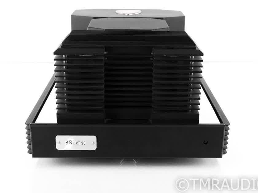 KR Audio VT-20 Dual Mono Transistor Tube Power Amplifier; VT20 (22409)