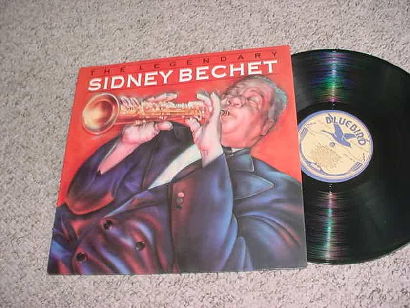 JAZZ Legendary Sidney Bechet lp record - digitally remastered blue bird 6590-1-rb  1988