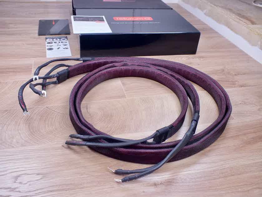 Tellurium Q Statement highend audio speaker cables 2,5 metre