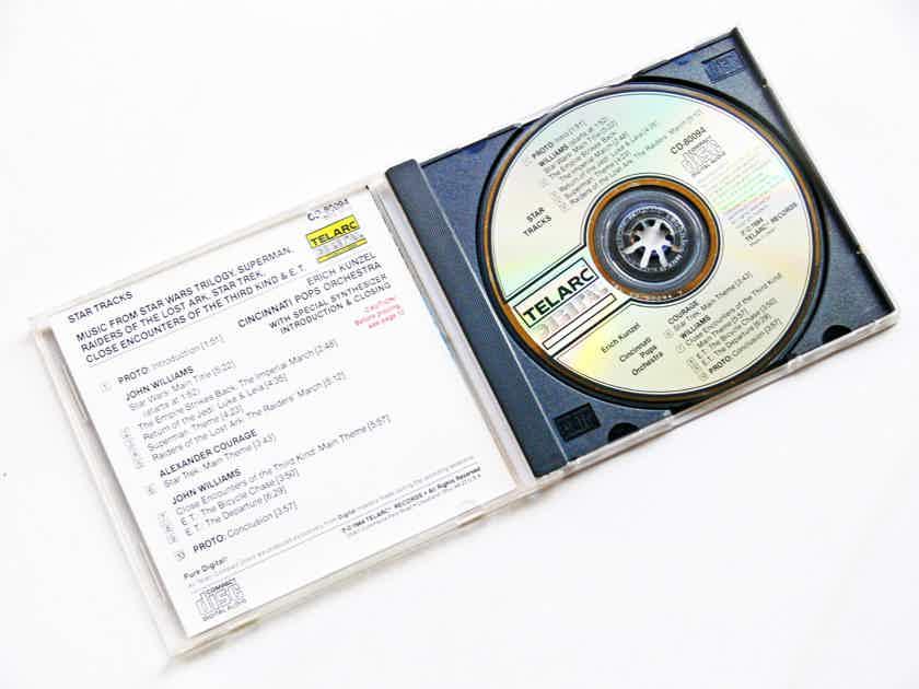 TELARC CD   STAR TRACKS   - ** ORIGINAL 1984 JAPAN PRESSING **