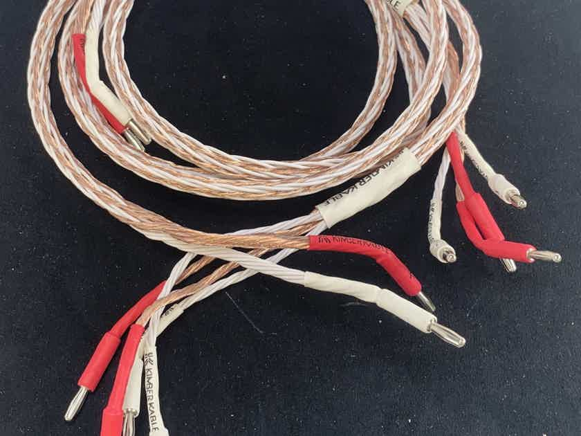 Kimber Kable Ascent Series - 8TC Speaker Cable in Bi-Wire - 4.5'