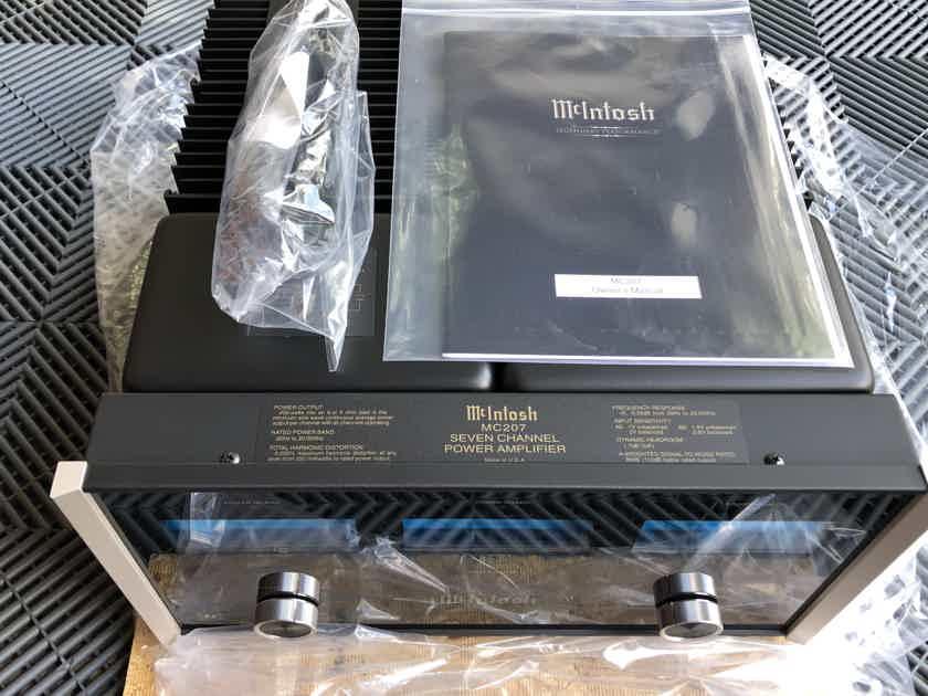 McIntosh MC-207 7 channel amplifier 7x200 watts $9999 MSRP