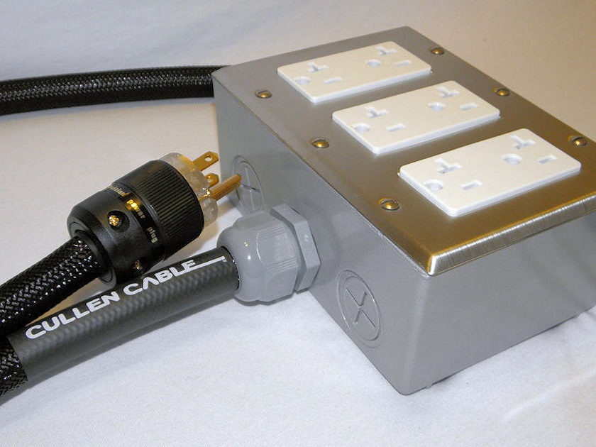 Cullen Cable  Gold Series Power Strip Made in the USA!