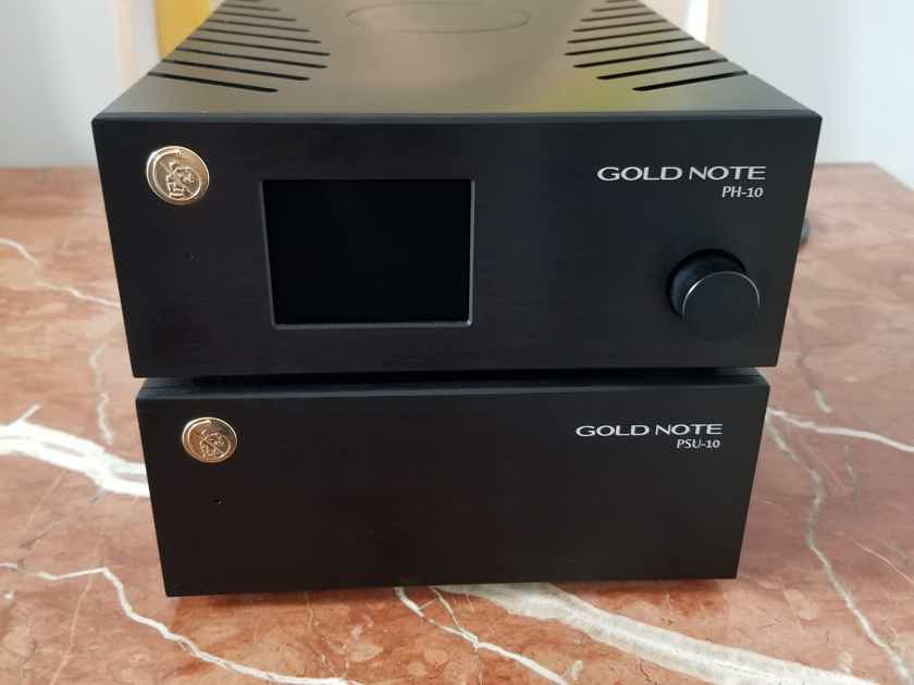 Gold Note PH-10 Phono Preamp & PSU-10 Dual Choke Inductive Power Supply w/ Free Shipping