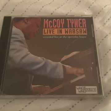 McCoy Tyner Sealed Compact Disc  Live In Warsaw