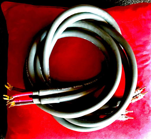 One of two sets Refer Pro 9 Tweater cables