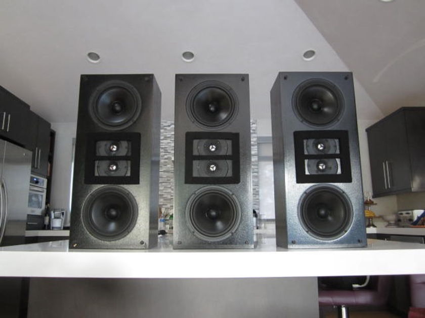Snell LCR-500THX, set of 3,  Kevin Voecks (Revel) designed, Stereophile Class A, orig. $2700