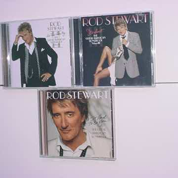 Rod stewart lot of 3 cd cd's great American songbook volumes I & II & III