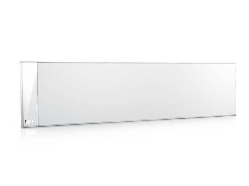 KEF T301C Center Speaker WHITE COLOR UltraThin Center Speaker wall or shelf
