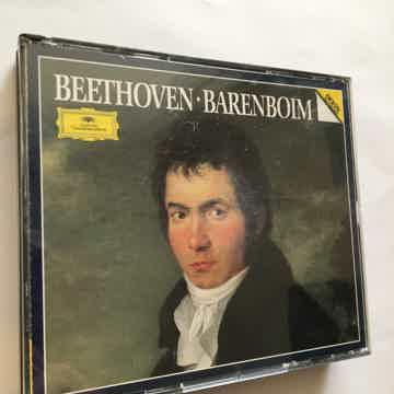 Beethoven  Barenboim Cd set Deutsche Grammophon 1984
