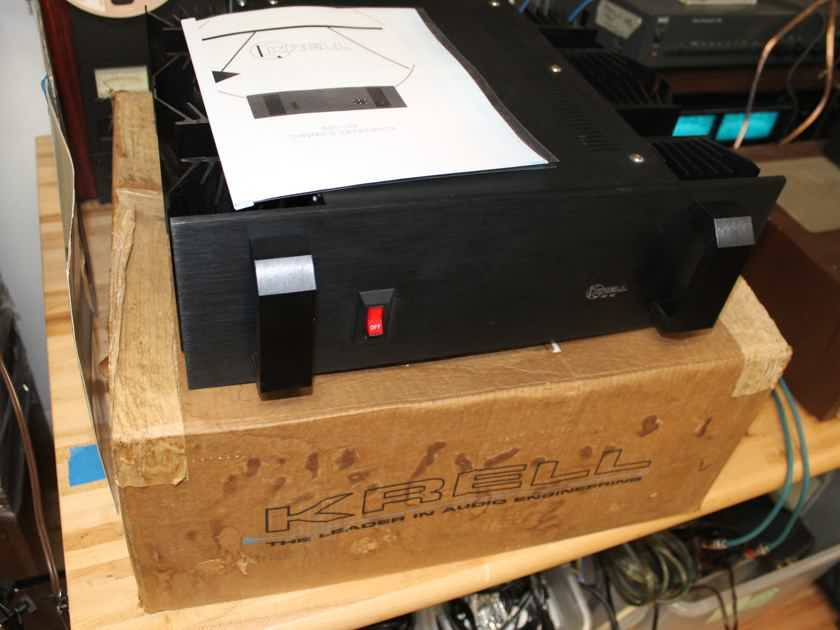 Krell KST-100 Class A/B Power Amplifier in Original Box, Manual Copy - Pristine