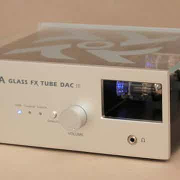 Glass FX Tube DAC DSD