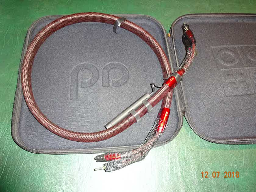 AudioQuest Redwood 5 ft speaker cables with 72 volt DBS system Price reduced