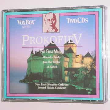 VOXBOX vox box 2 CD SET classical PROKOFIEV The Film Music Leonard Slatkin