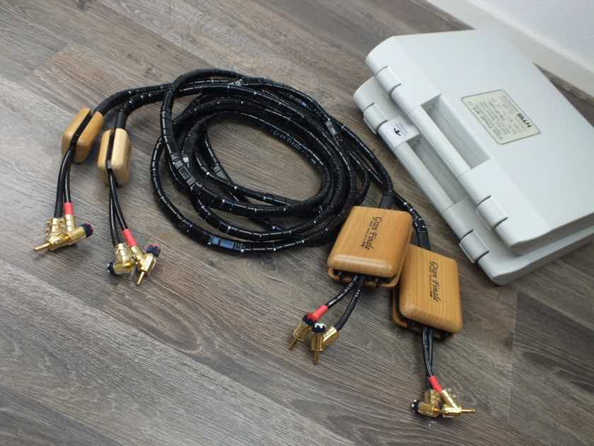 HMS Electronik Gran Finale MkII TOP Match speaker cables 2,5 metre