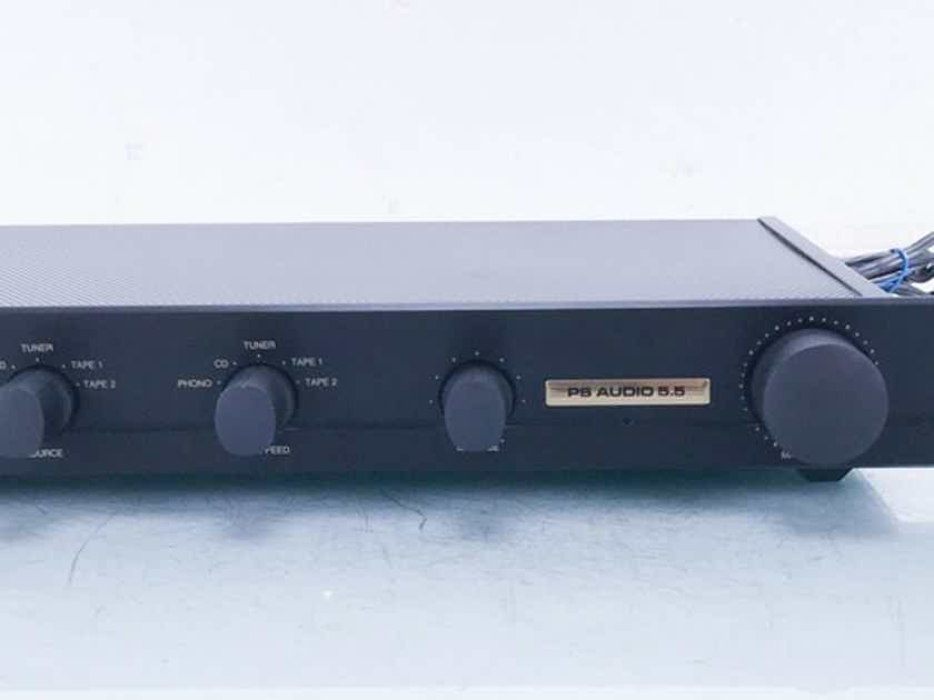 PS Audio 5.5 Vintage Stereo Preamplifier MM / MC; Rare Classic (13866)