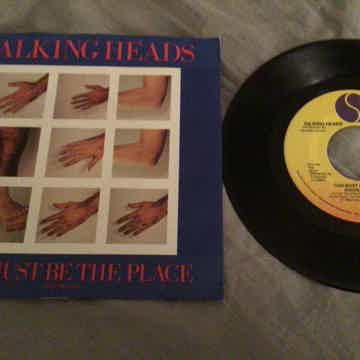 Talking Heads Promo Mono/Stereo 45 With Picture Sleeve ...