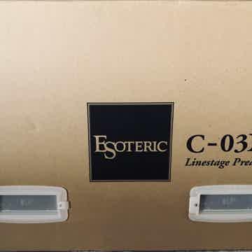 Esoteric C03Xs