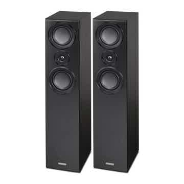 Floorstanding Loudspeakers (Black) -